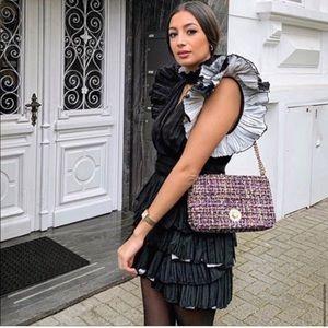 GORGEOUS ZARA NWT Ruffled Mini Skirt